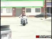 Latin Whore Fucked By A Biker