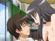 crazy anime toying and getting dick