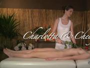Lesbian massage with roses