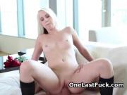 Long Haired Ex Girlfriend In Boots Riding And Banged From Behind