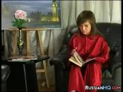 Russian Schoolgirl Fucked By Her Teacher