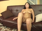 Asian pornstar jammed with american cock