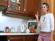 The new teenie housemaid
