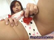 Slut marin hoshino gets face covered in cum 8 by slurpjapanese