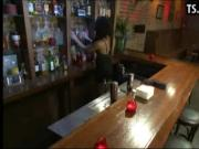 Guy gets fucked by shemale bartender