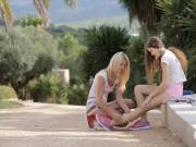 Vanessa and Izzy Delphine lesbian action