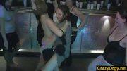 Crazy cumshots on slutty party girls