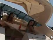 Doing Ass 2 Mouth On A Boat