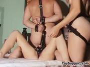 Strap-On Double Penetration