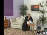 Grandma Loves Thick And Stiff Cock