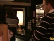 Sexy Sluts In A Threeway At A Club