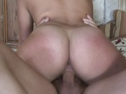 Petite teen nailed by her daddys friend