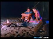 Sex At The Beach At Night