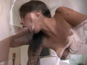 Beautiful babe fucked in the ass relax