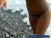 Bikini babe shows her sexy pics on the beach 3 by CaughtExGF