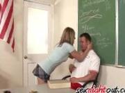 Jessie Cox Fucks Her Teacher