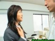 Akane Hotaru gives a hot blowjob 2 JPschoolGirls