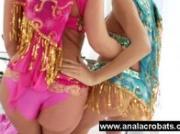 Busty oriental lesbians