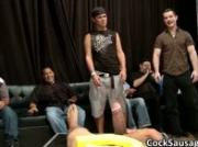Bunch of drunk gay guys go crazy in club 2 by CockSausage