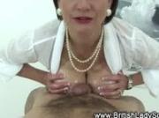 Mature british femdom russian cumshot