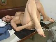Asian diva with immenge big tits fucked by large fucking machines