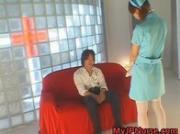 Aki Mizuhara and Misaki Asou Lovely Japanese big boobed nurses 1 by MyJPNur