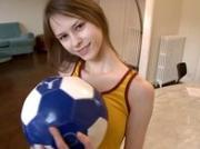 Super sweet 19yo russian girl fingering