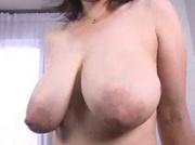 Milking Her Huge Tits