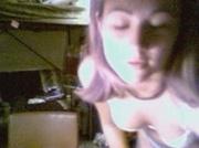 Teen striptease webcam dance