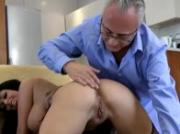 Dirty slut cant get enough of mature guys cock