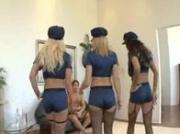 Sexy Cops Fuck Lucky Guy