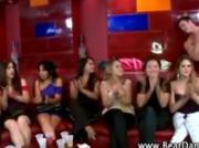 Cfnm babes give blowjobs