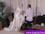 Transvestite bride loves whipping