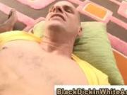 Huge black cock invades iterracial sex loving white ass