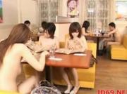 Japanese AV Model gets fingered in food truck