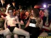 CFNM stripper sucked by wild CFNM girls at party
