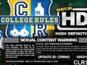 Horny college coeds show how much