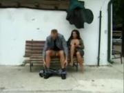 Fucking a stranger on a bench pt3
