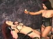 Lesbian Bondage and Hotwax