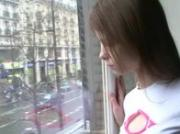 Beata teenie awaiting her boyfriend