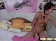 Sexy tease of Russian girlfriend Natasha