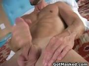 Hunky gay dude stripping and masturbating 11 by GotMasked
