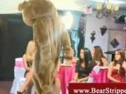 Cfnm ladies having fun with stripper