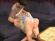 Amateur Teen Gets A Harsh Spanking