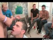 Muscled stripper makes gay gang go crazy 17 by CockSausage