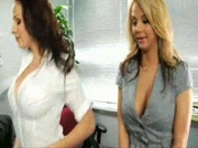 Gianna Micheals fucks in the office