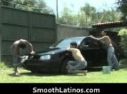 Mexican twinks go gay bareback 1 by SmoothLatinos