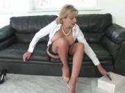Watch mature Lady Sonia get herself off