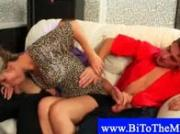 Drunk party ends up in bisexual fuckfest
