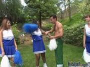 Laura Lai is a chubby cheerleader